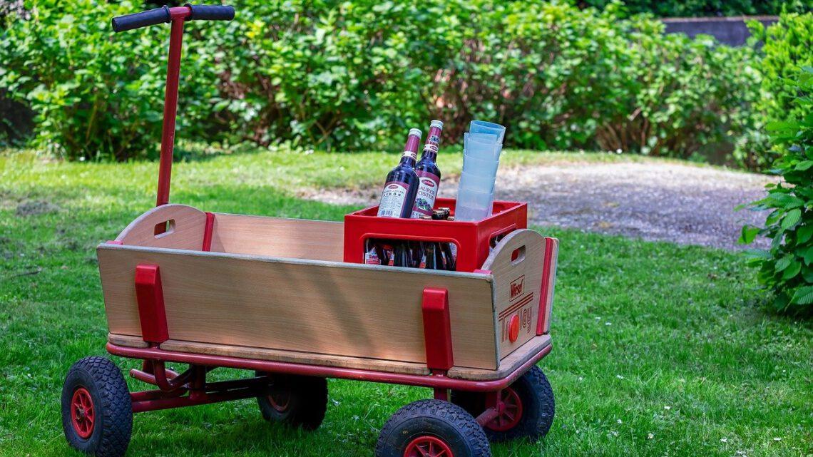 Beach Wagon Company | Een bolderkar die opvouwbaar is?
